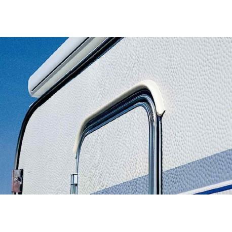 Gouttière Drip-Stop adaptable sur paroi 75 cm pour caravane et camping-car