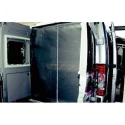 Moustiquaire pour porte arrière de fourgon Ford avec grande découpe de porte