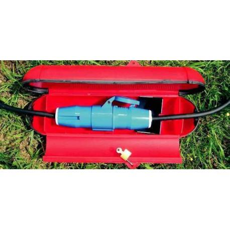protège prise plastique spécial pour caravane et camping car