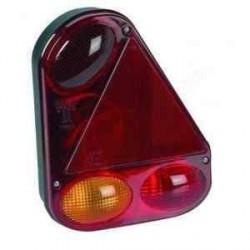 Feu RADEX 2900 droit 4 fonctions avec feu de recul pour caravane ou remorque