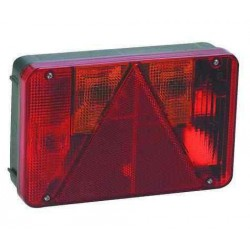 Feu RADEX 5800 gauche 6 fonctions à câbler pour caravane ou remorque