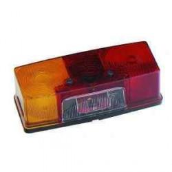 Feu JOKON gauche 4 fonctions avec éclaireur de plaque pour remorque