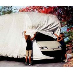 Housse de protection de jusqu'à 6,40 m pour caravane et camping-car