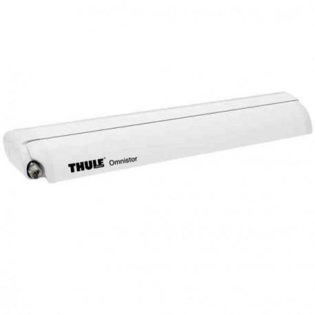 Store Thule Omnistor 6200 - boitier blanc - couleur : mystic gris - longueur : 3,50m pour caravane et camping-car