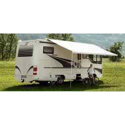 Store Thule Omnistor 9200 - manuel - boitier anodisé - couleur : Saphire bleu - longueur : 4m pour caravane et camping-car