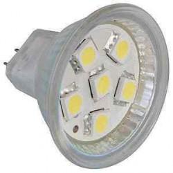 Ampoule MR11 Leds pour caravane et camping car