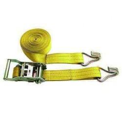 Sangle 35mm avec tendeur et 2 crochets L:4,5m pour caravane ou camping car