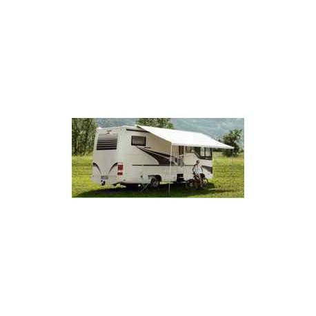 Store Thule Omnistor 9200 - manuel - boitier blanc - couleur : Saphire bleu - longueur : 6m pour caravane et camping-car