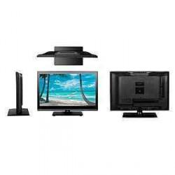 """TV LED 21,5"""" SLIM et lecteur DVD STANLINE pour caravane et camping-car"""