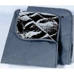 Rideaux isothermes intérieurs gris pour Laïka Ecovip Intégral avant 1995