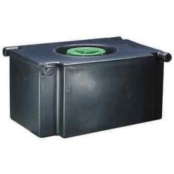 Réservoir pour eaux usées à cloison anti roulis 98 litres pour camping car et caravane