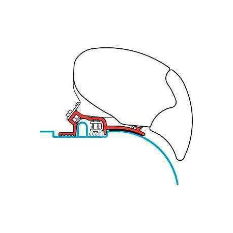 Adaptateur pour stores F 65 S kit Ducato-Jumper Boxer High Roof pour caravane et camping-car