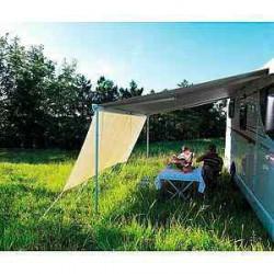Rain & Sun Blocker Front - L: 2.4m / H: 1.4m pour caravane et camping-car