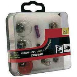 Boîte d'ampoules H1 et H7 12V