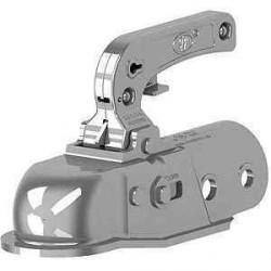Boîtier d'attache pour tête d'attelage freinée diamètre 50