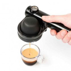 Cafetière Handpresso Wild Hybrid à dosette pour camping car