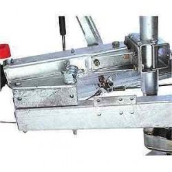 Kit collier arrière pour roue jockey diam 48 et 60 pour tête ALKO 251S pour caravane et remorque