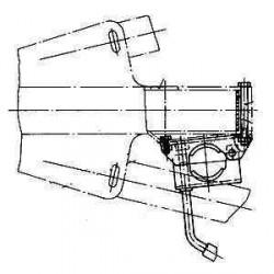 Kit collier latéral pour roue jockey diam 48 pour tête ALKO 161S et 251S pour caravane et remorque