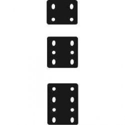 Plaque de ré-hausse 6 trous perçage diam 17