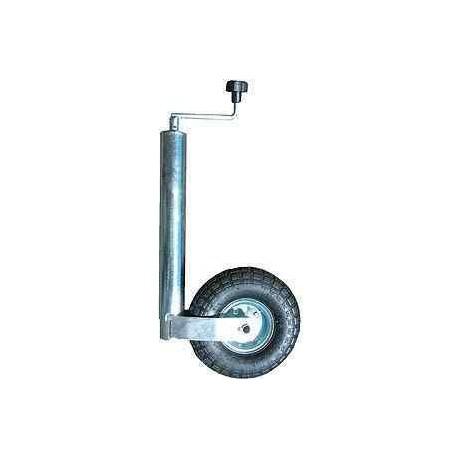 roue jockey gonflable diam tre 60mm pour caravane. Black Bedroom Furniture Sets. Home Design Ideas