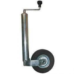 Roue jockey classique diamètre 60mm pour caravane et remorque