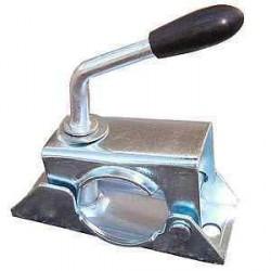 Collier à boulonner poignée fixe diamètre 48mm pour caravane et remorque