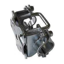Collier à boulonner basculant diamètre 48mm pour caravane et remorque