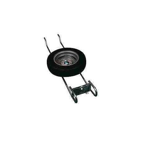 Support de roue de secours ALKO petit modèle pour caravane et camping-car