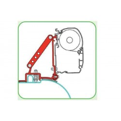 Adaptateur pour stores Fiat Ducato 2 étriers de 8 cm avant le 06/06 pour caravane et camping-car