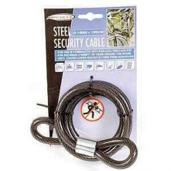 Câble de sécurité 10mm - 150cm pour caravane et camping-car