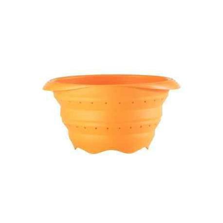 Passoire mandarine pliable en silicone, 23cm pour camping car