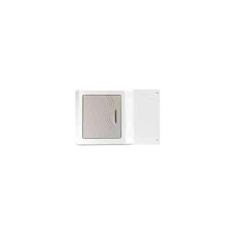 Armoire de toilette ba 201 grise pour caravane et for Armoire de toilette but