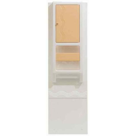 Armoire de Toilette BA 202, couleur abricot, pour caravane et camping car