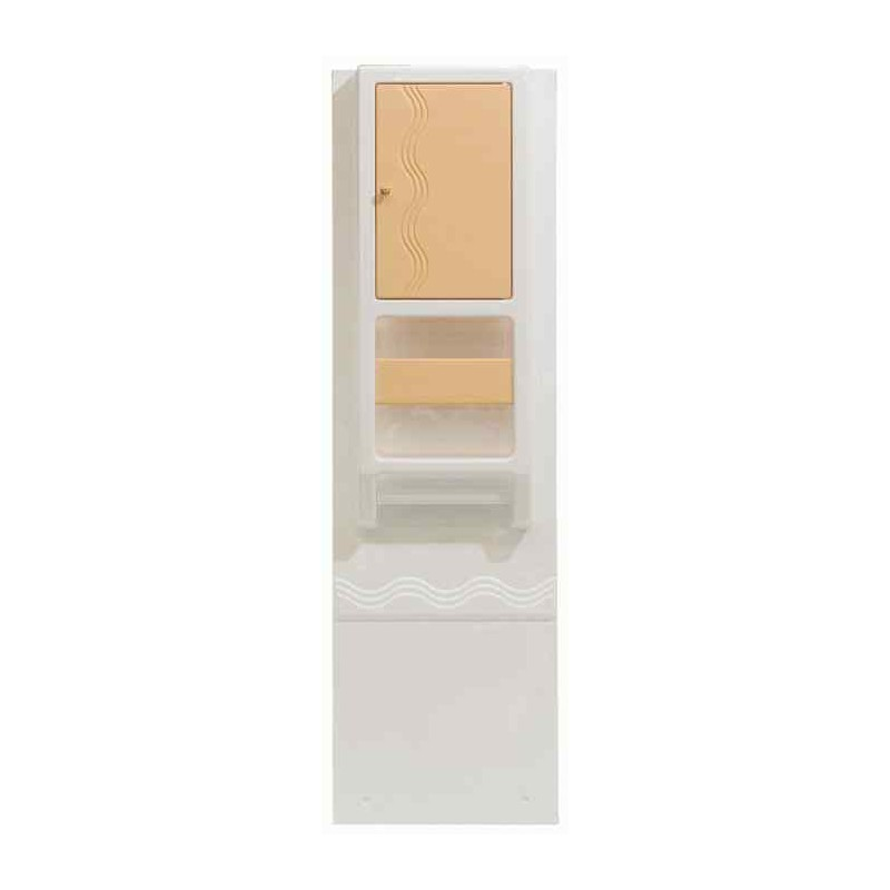 armoire de toilette ba 202 couleur abricot pour caravane et camping car. Black Bedroom Furniture Sets. Home Design Ideas