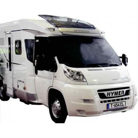 Film pare-soleil et pare-vue midnight Ford 2007 pour caravane et camping-car