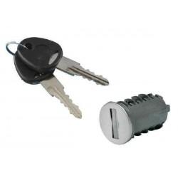 Paire de clés avec 10 barillets FAP pour caravane et camping-car