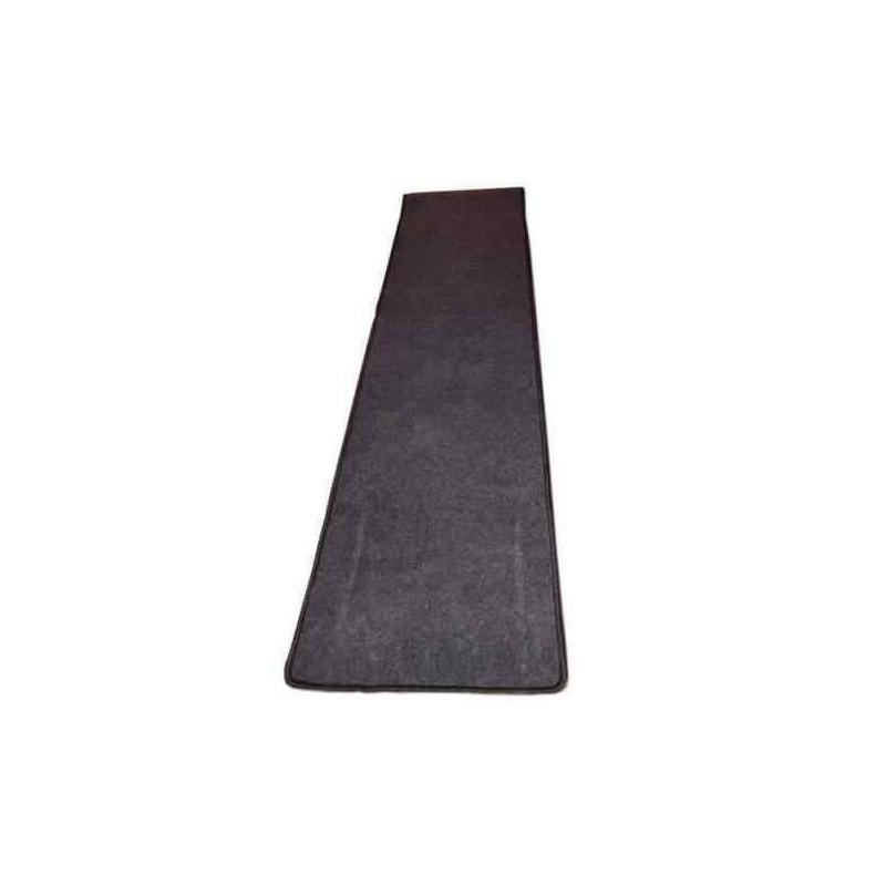 tapis de couloir gris 300 x 45 cm pour caravane et cing car