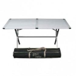 Table alu 4 pieds réglables L : 1m50 pour caravane et camping-car