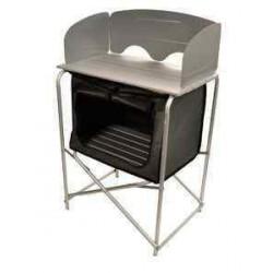 Meuble cuisine Compact en aluminium pour caravane et camping car
