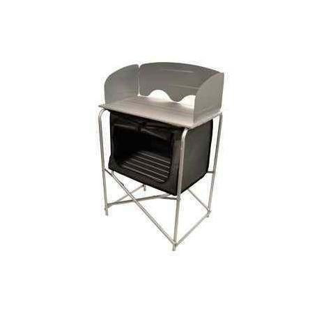 Meuble cuisine compact en aluminium pour camping car for Plaque en aluminium pour cuisine