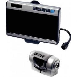 """Vidéo de recul LCD 7"""" couleur grise RVS 750 pour caravane et camping-car"""