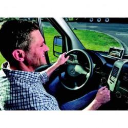 """Vidéo de recul LCD 5"""" couleur grise RVS 750 pour caravane et camping-car"""