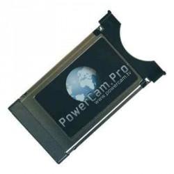 Support Power CAM PRO obligatoire pour insérer la carte d'abonnement satellite pour caravane et camping-car