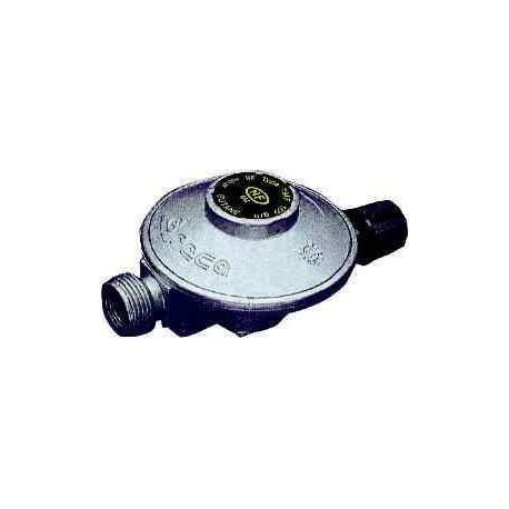 Détendeur butane 28mbar avec robinet camping-gaz
