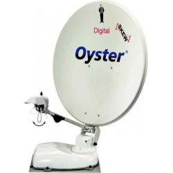 Antenne Oyster 85 Digital avec récepteur numérique et skew, hauteur 22cm, garantie 3 ans pour caravane et camping-car