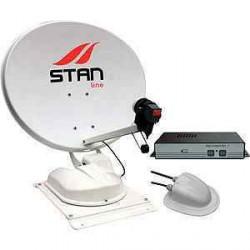Antenne automatique satellite STANLINE ACCESS nue pour caravane et camping-car