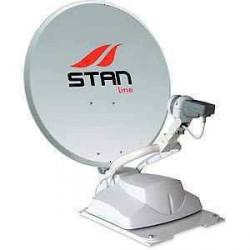Antenne satellite automatique Stanline PROGRESS + Démodulateur TNTSAT pour caravane et camping-car
