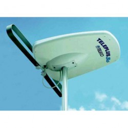 Antenne Télé Plus 3G directive numérique et analogique 38dB 12/230 V pour caravane et camping-car