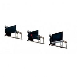 Support TV LCD latéral (droit ou gauche) pour caravane et camping-car