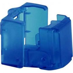 Porte gobelet repliable bleu pour caravane et camping-car